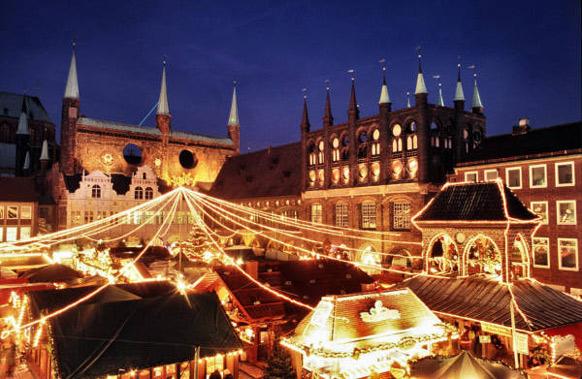 Julmarknad Lübeck