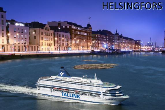 Kryssning till Helsingfors med Tallink Silja