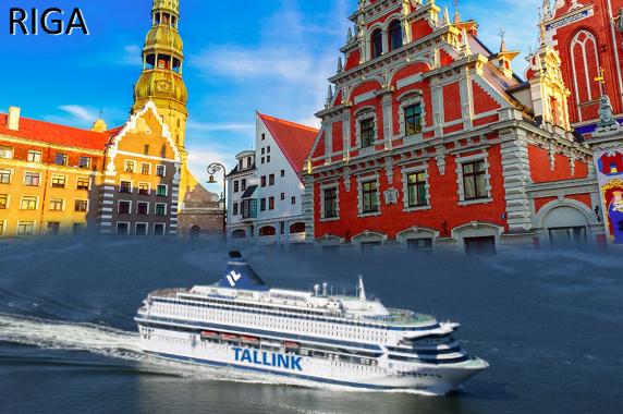 Kryssning till Riga med Tallink Silja