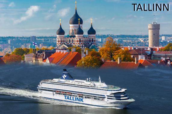 Kryssning till Tallinn med Tallink Silja