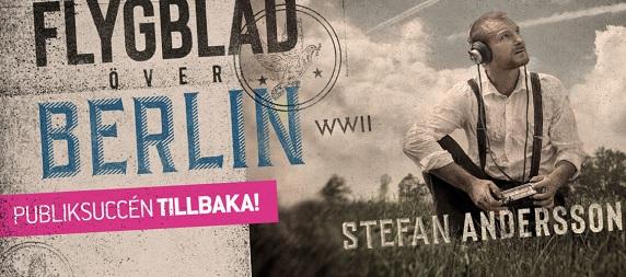 Stefan Andersson Flygblad över Berlin - Göteborg
